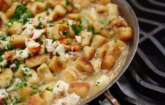 Eye Candy Gnocchi With Maine Lobster And Uni Butter James Beard