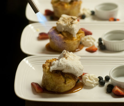 desserts in the James Beard House kitchen