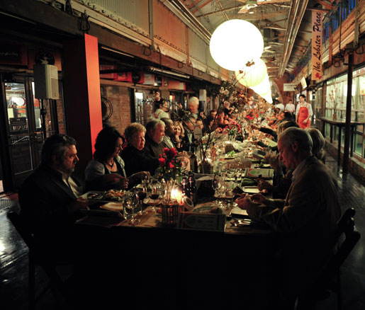 The James Beard Foundation's Sunday Supper at Chelsea Market