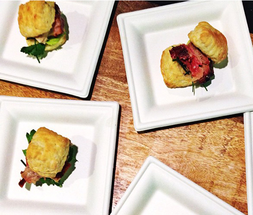 Sweet Cheeks Biscuit Sandwiches