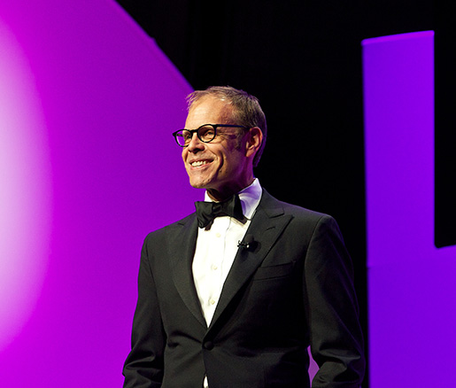 Alton Brown will host the James Beard Awards in Chicago