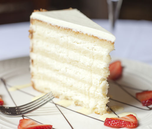 The Ultimate Coconut Cake from Peninsula Grille in Charleson, South Carolina