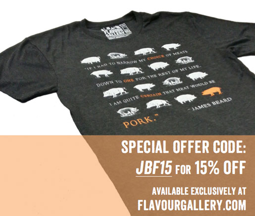 JBF Tees from Flavour Gallery