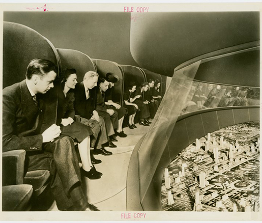 General Motor's Futurama Exhibit at the 1939 World's Fair