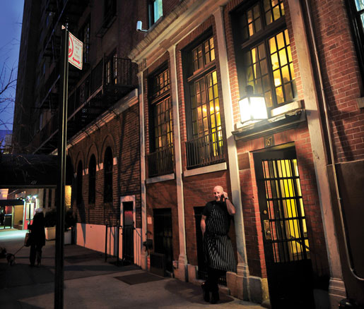 The James Beard House in New York City