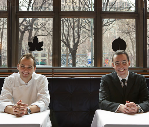 JBF senior editor Anna Mowry interviews Daniel Humm and Will Guidara of Eleven Madison Park
