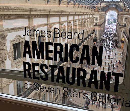 James Beard American Restaurant in Milan