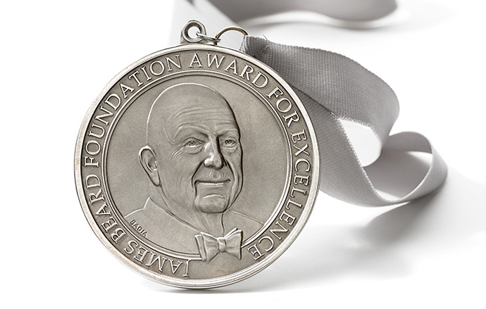The James Beard Foundation has announced the first winner of its new Design Icon Award