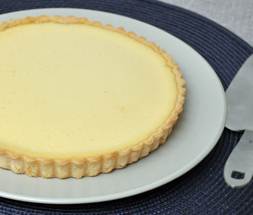 Recipe for Honey–Citrus Tart, adapted by the James Beard Foundation