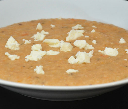Recipe for gigantes soup with feta cheese