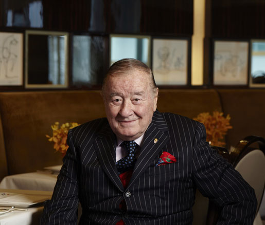 Sirio Maccioni, one of New York City's most iconic restaurateurs, will receive the 2014 James Beard Award for Lifetime Achievement.