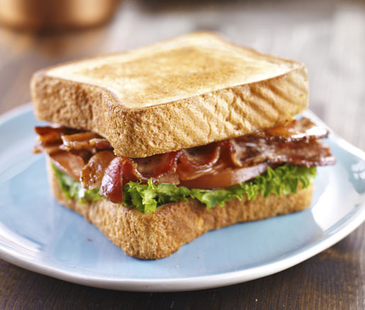A Perfect Bacon, Lettuce, and Tomato Sandwich