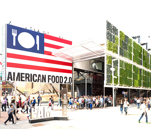 The USA Pavilion at Expo Milano