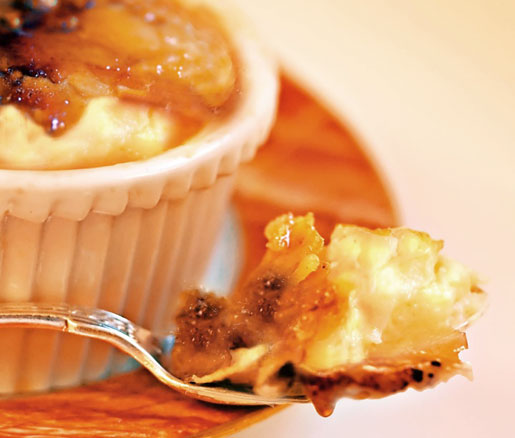 Jean-Louis Palladin's recipe for crème brûlée, courtesy of the James Beard Foundation