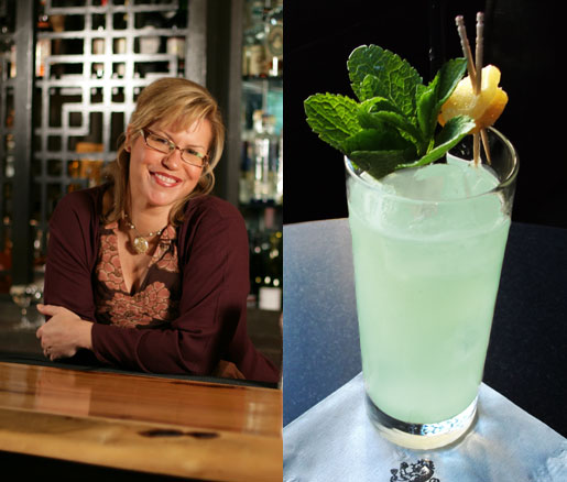 Pegu Club's Audrey Saunders and her Gin-Gin Mule cocktail