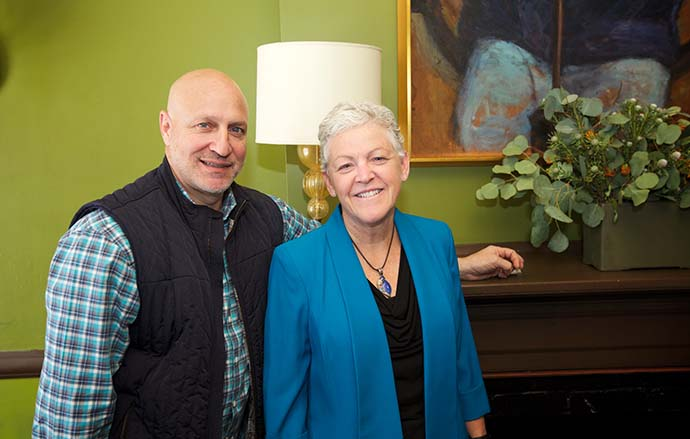 JBF Award Winner Tom Colicchio and Administrator McCarthy (Photo: Clay Williams)