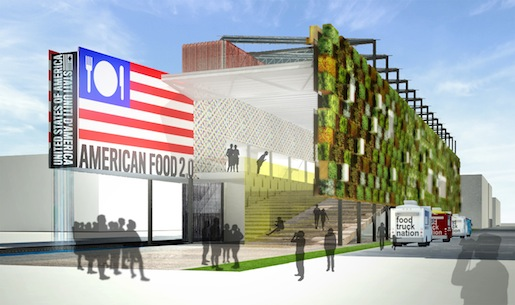 USA Pavilion at Expo Milano 2015