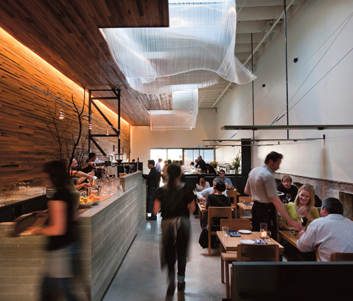 San Francisco's Bar Agricole, designed by Joshua Aidlin and David Darling