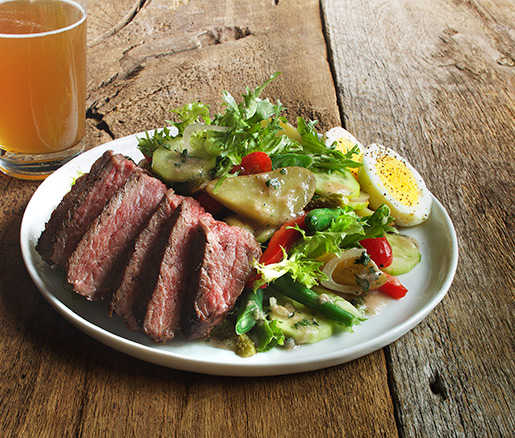 Recipe for Beef Salad Parisienne