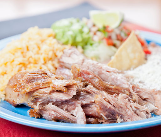The James Beard Foundation on carnitas