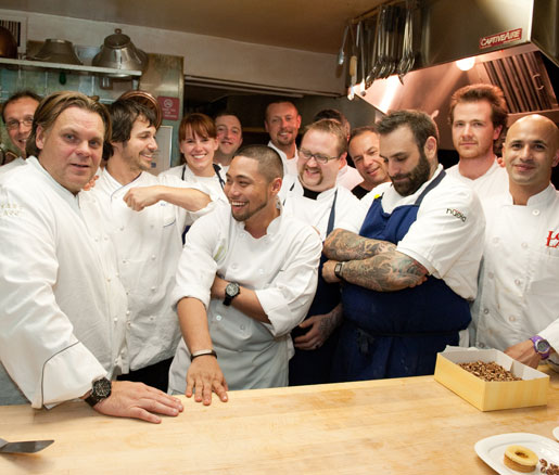 chefs at James Beard House