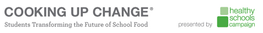 The James Beard Foundation is partnering with Cooking up Change and Healthy Schools Campaign