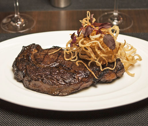Steak Delmonico from Delmonico's in New York City