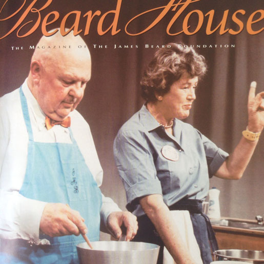 James Beard and Julia Child