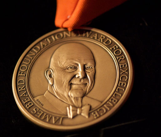 James Beard Awards medallion