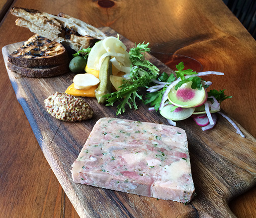Pork and Chicken Heart Pâté
