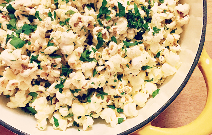 Video how to make truffled popcorn james beard foundation forumfinder Choice Image