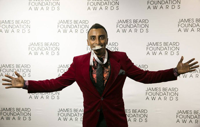 Who's Who recipient Marcus Samuelsson