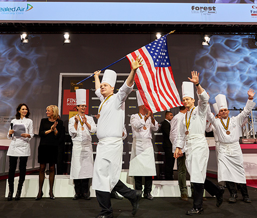 Team USA at Bocuse d'Or USA
