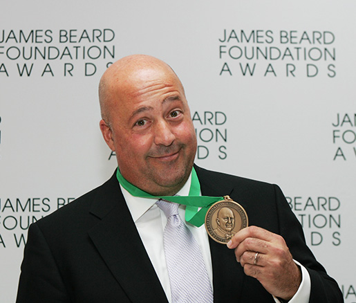 Andrew Zimmern at the James Beard Awards