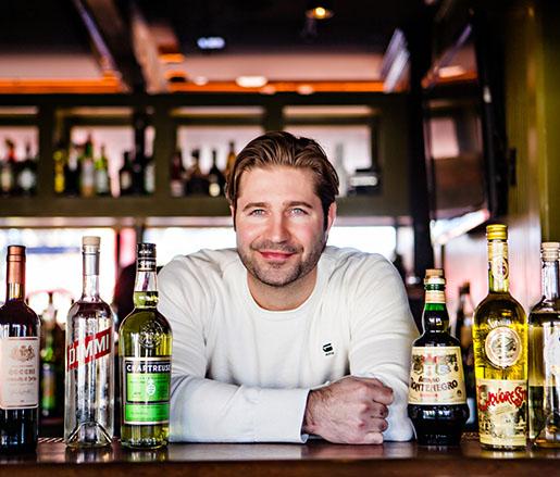 Beverage Director Brent Karlicek