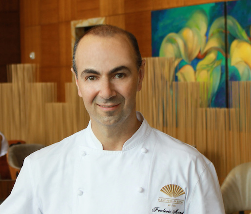 Pastry Chef Frederic Monnet