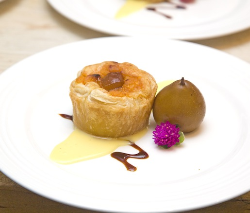 Dulce de Batana and Port-Salut Cheese Tart