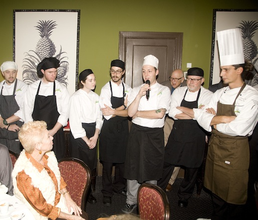 Event chefs convene at the Beard House