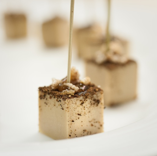 Foie Gras Ganache with Ceylon Cinnamon and Tamarind Gastrique