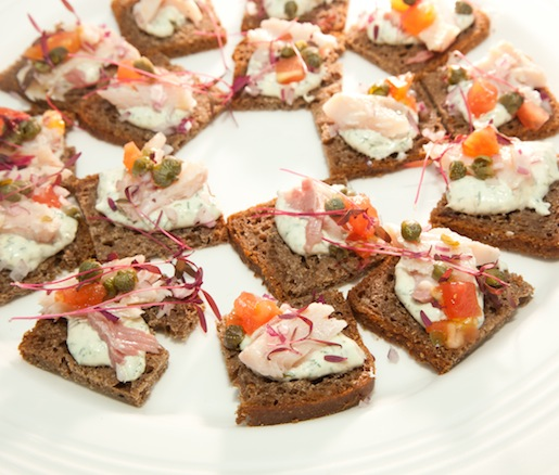 Maiale Tonnato on Irish Soda Bread