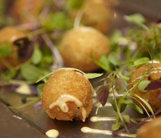 Dried Caplin–Potato Croquettes