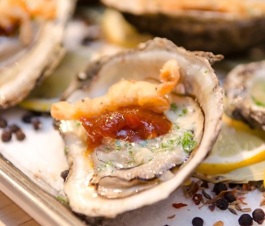 Barbecued Gulf Oysters