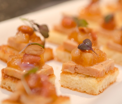 Foie Gras Toasts