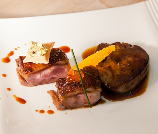 Chianti-Style Duck with Duck Liver and Orange
