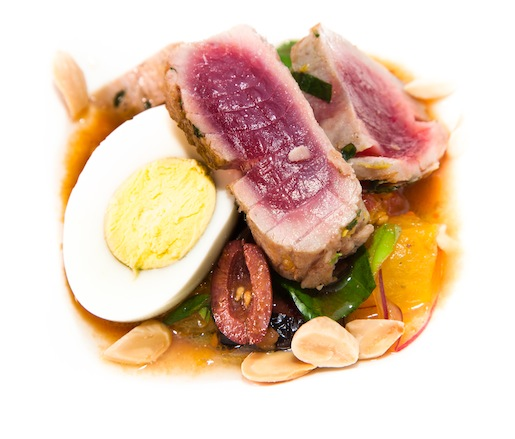 Seared Hawaiian Big-Eye Tuna Moje