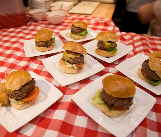 P.J. Clarke's > Miniature Cadillac Burgers with Smoked Country Bacon and Classic American Cheese