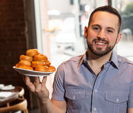 Pastry Chef Stephen Collucci