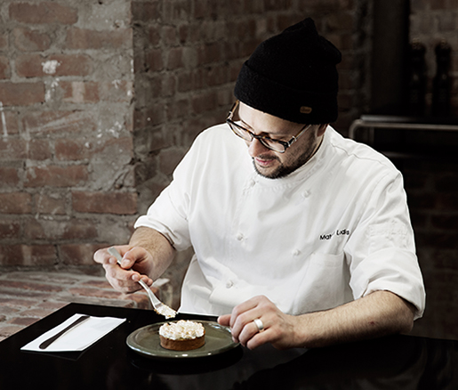 Pastry Chef Matthew Lodes