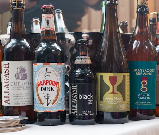 Selection of New England Craft Beers
