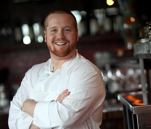 Host Chef Brad Spence